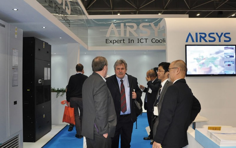 Airsys at 2015 Data Center World Exhibition