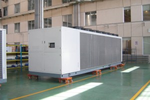 Central Air Conditioner Assembling